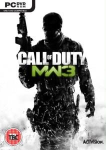 Call of Duty Modern Warfare 3 DVD Cover
