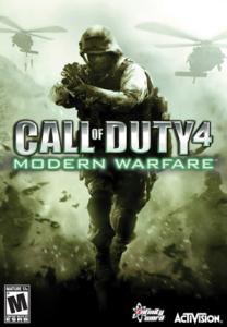 Call of Duty 4 Modern Warfare Box Cover