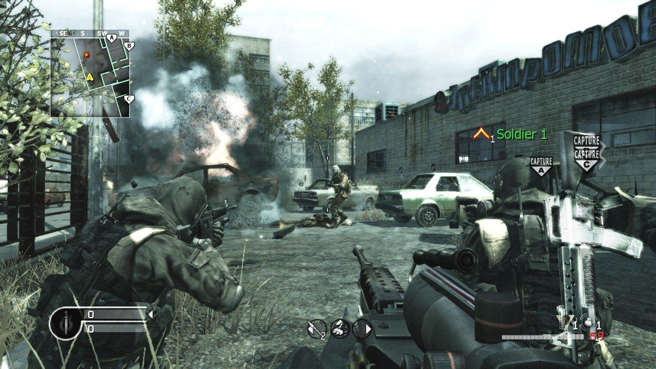 Call of Duty 4 Modern Warfare Screenshot