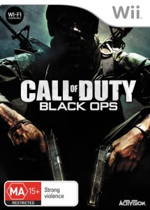 Call Of Duty Black Ops DVD Cover