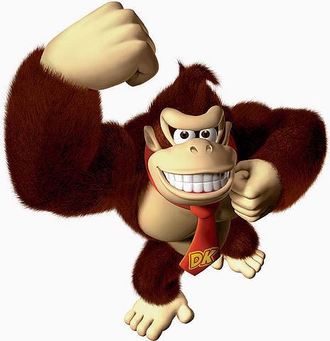 Donkey Kong Video Games & Character List