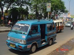angkot Rute Angkutan Umum (Bemo) di Surabaya