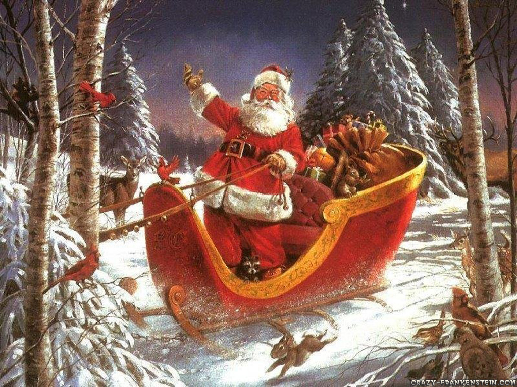 santa claus arrived Merry Christmas..... What we have to do on Santa Claus Rally