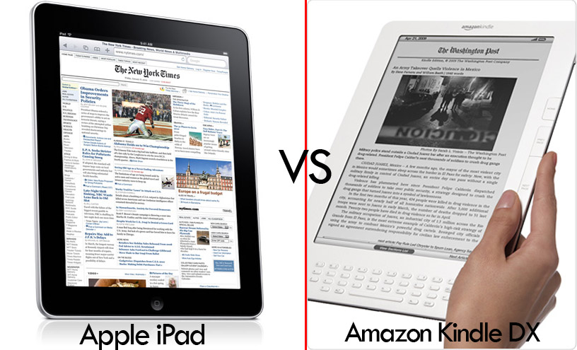Apple Ipad Vs Kindle: Apple's IPad Vs Amazon Kindle : Which One Is Better?