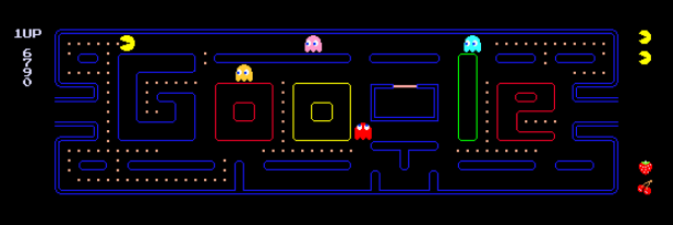 pacman10 gameplay highres 610x204 610x204 610x204 Nostalgia with Googles Pac Man. Back to old times