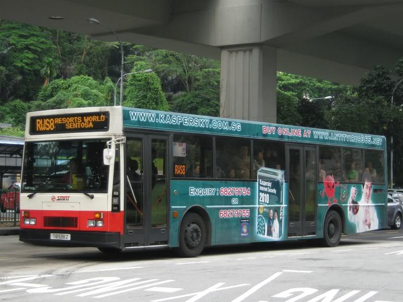 RWS 8 Bus to Resort World Sentosa