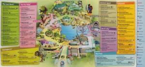 Universal Studio Singapore Guide Map 2010