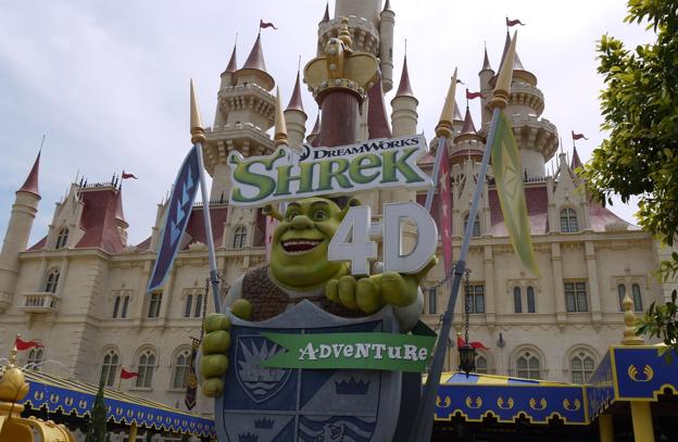 Shrek 4D Adventure