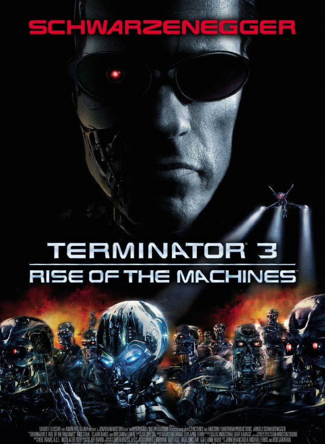 terminator 3 rise of the machine dvd cover