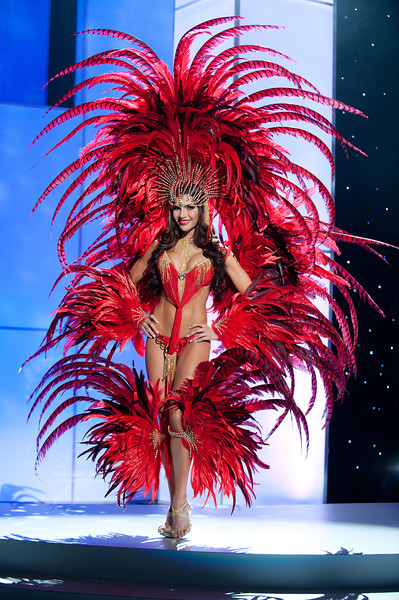 miss trinidad and tobago gabrielle walcott Miss Universe 2011 National Costume