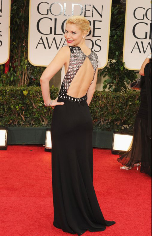 golden globe 2012 Claire Danes1 Golden Globe Awards 2012 Best Celebrity Dresses