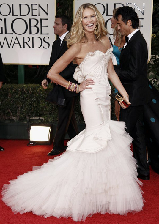 golden globe 2012 Elle Macpherson1 Golden Globe Awards 2012 Best Celebrity Dresses