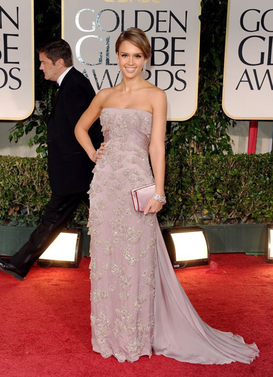 golden globe 2012 Jessica Alba1 Golden Globe Awards 2012 Best Celebrity Dresses