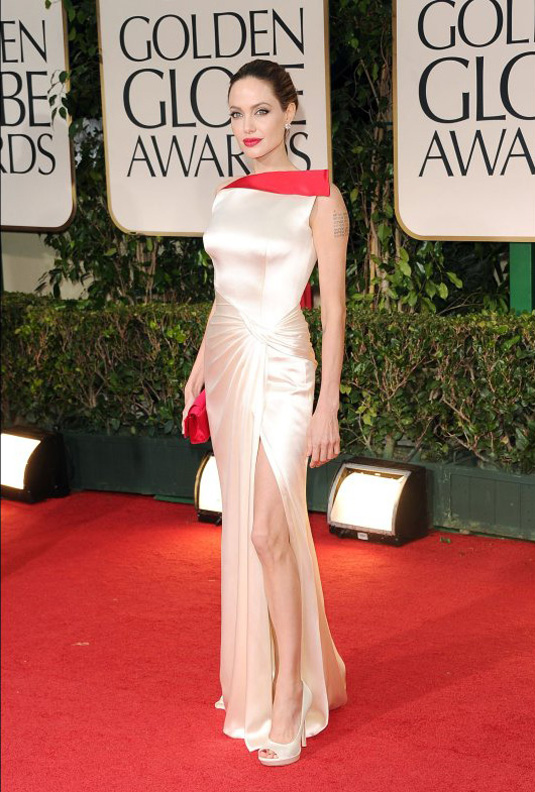 golden globe 2012 angelina jolie1 Golden Globe Awards 2012 Best Celebrity Dresses