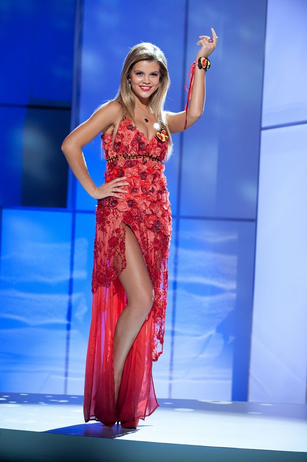 miss belgium justine de jonckheere Miss Universe 2011 Nat