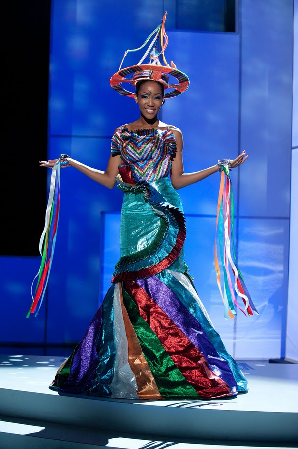 miss british virgin islands sheroma hodge Miss Universe 2011 National Costume