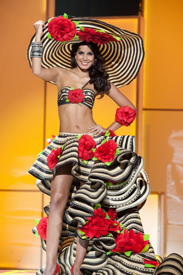 miss colombia catalina robayo Miss Universe 2011 National Costume