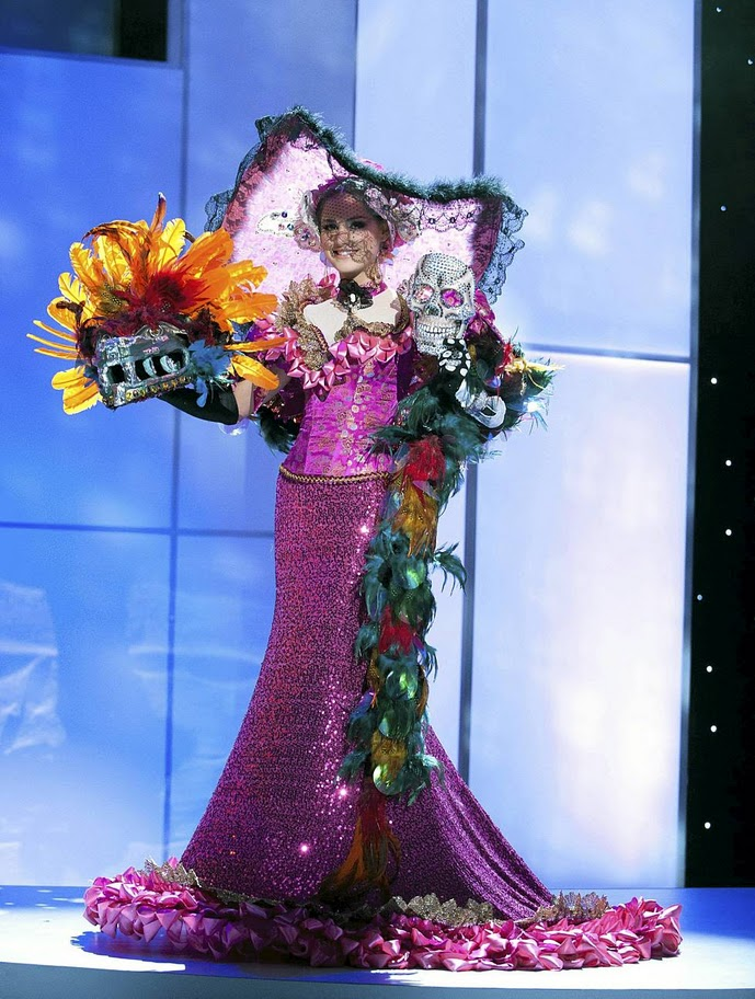 miss mexico karin ontiveros Miss Universe 2011 National Costume
