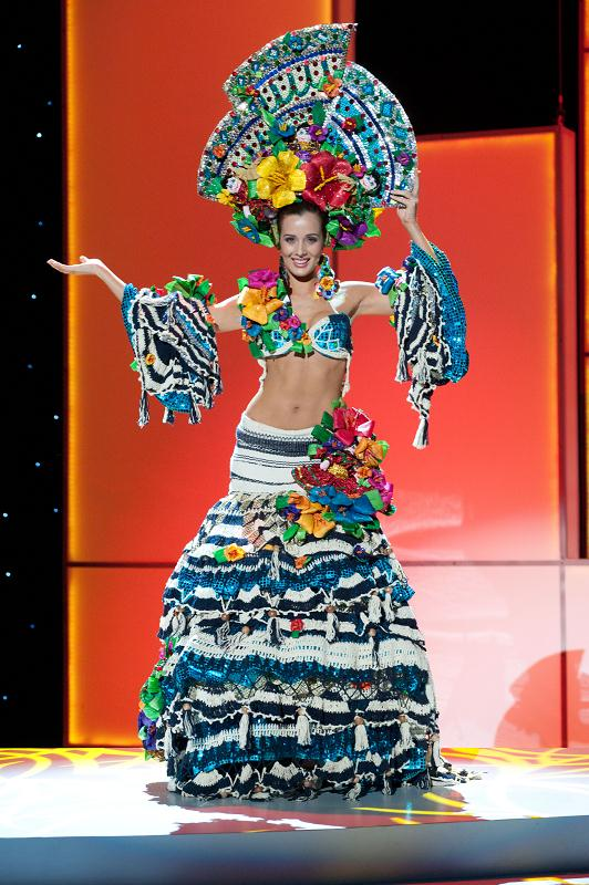 miss nicaragua adriana house Miss Universe 2011 National Costume