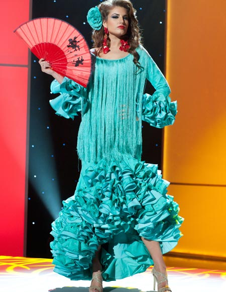 miss spain paula guillo Miss Universe 2011 National Costume