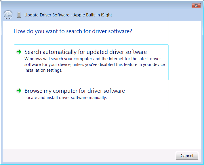 Install the windows 7 built-in drivers from the windows update.