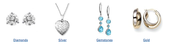 Valentine Jewelry Products