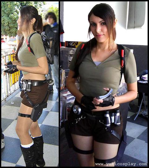 Yukilefay Lara Croft