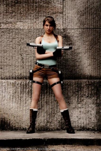 Lena Lara Lara Croft