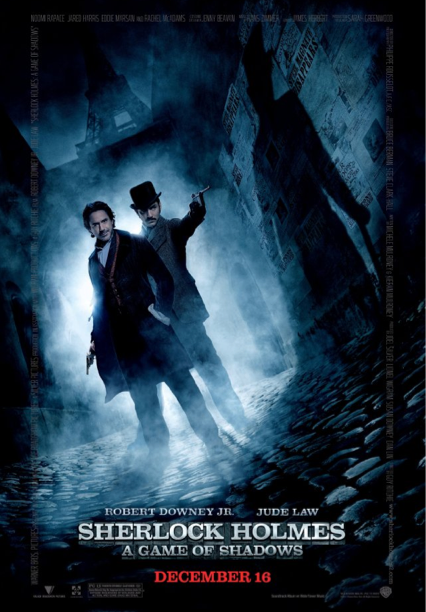 sherlock holmes a games of shadows cover