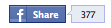 facebook share small counter button