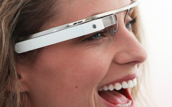 google glass close up