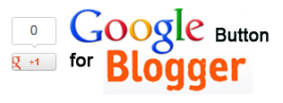 google plus button in blogger