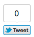 large counter twitter button