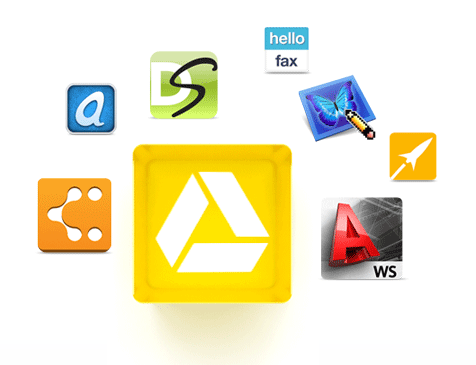 share apps through google drive