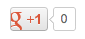 standard google plus button