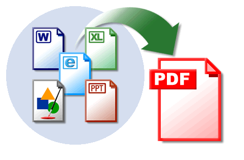 convert document file into pdf