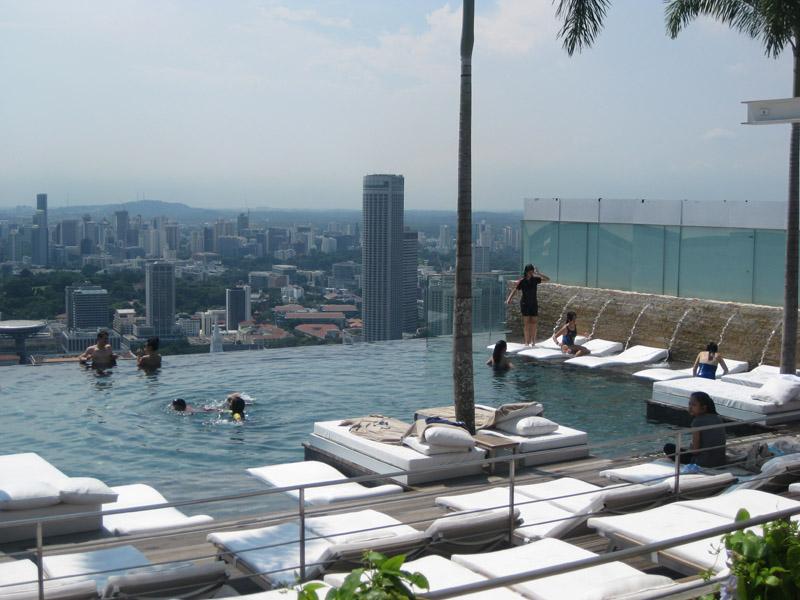 Marina Sands Skypark Pool