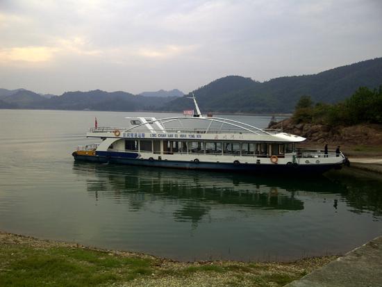 qiandao hu boat