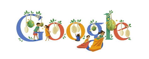indonesia independence day 2012 in google doodle