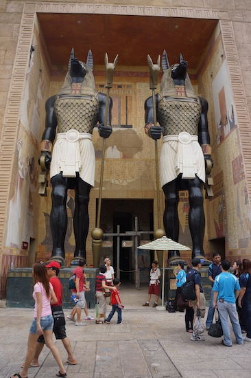 The Revenge of The Mummy in Universal Studio