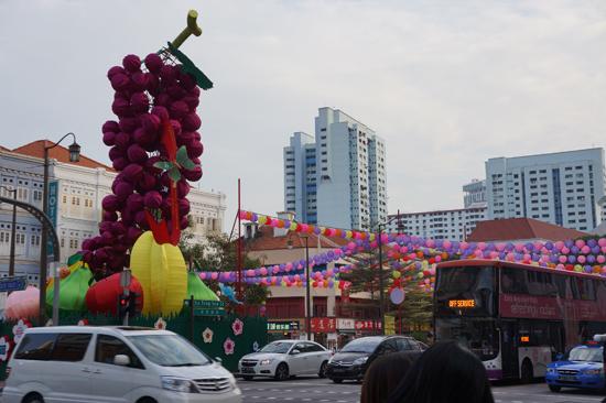 Chinatown Singapore Lampion
