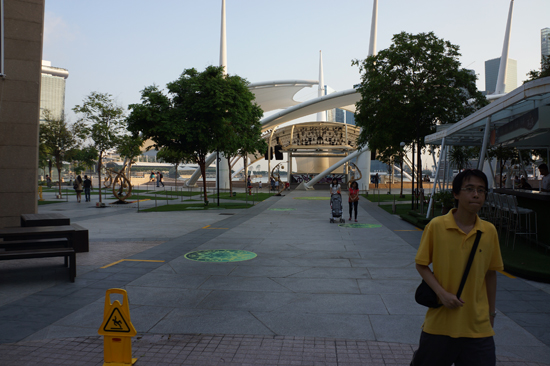 In Front of Esplanade Theatre