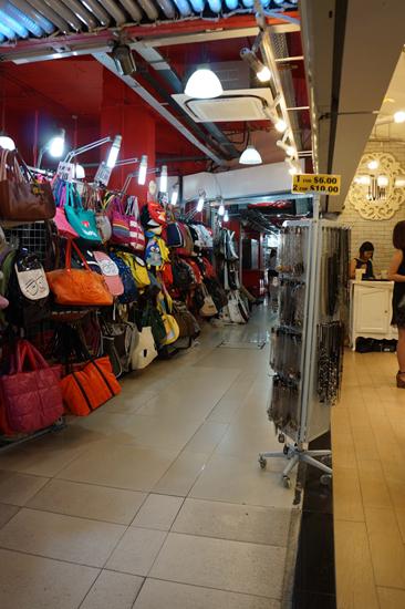Inside Bugis Street Singapore