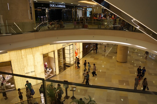 Inside ION Orchard