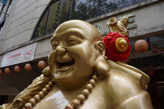Maitreya Buddha at Bencoolen