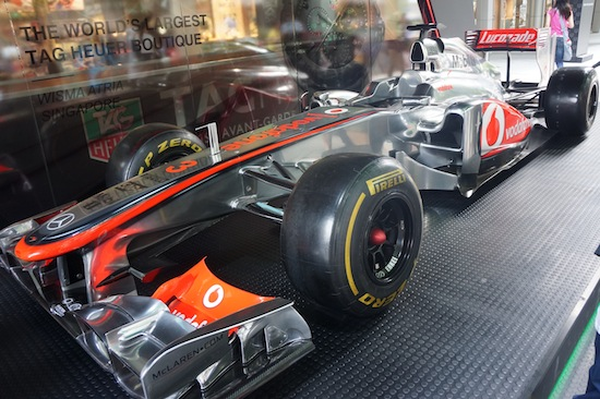 McLaren F1 Car in Orchard Road