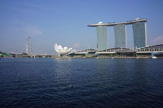 Merlion Park Scenery