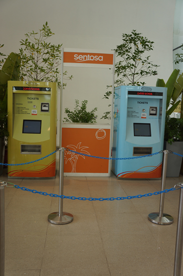 Sentosa Express Ticket Machine
