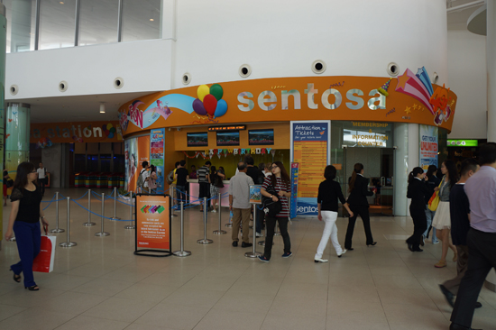 Sentosa Ticket Office at Vivo City