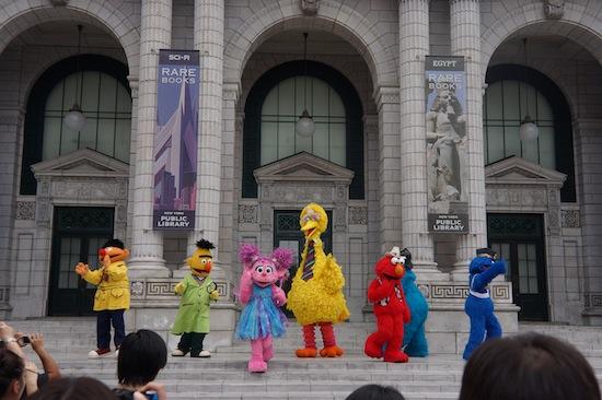 Sesame Street in Universal Studio